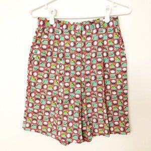 Authentic Vintage Golf Print High Waisted Shorts